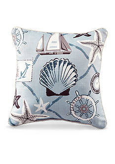 Croscill Yachtsman Square Pillow