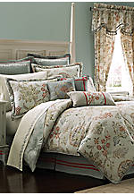 Retreat Aqua Queen Comforter Set 92-in. x 96-in.