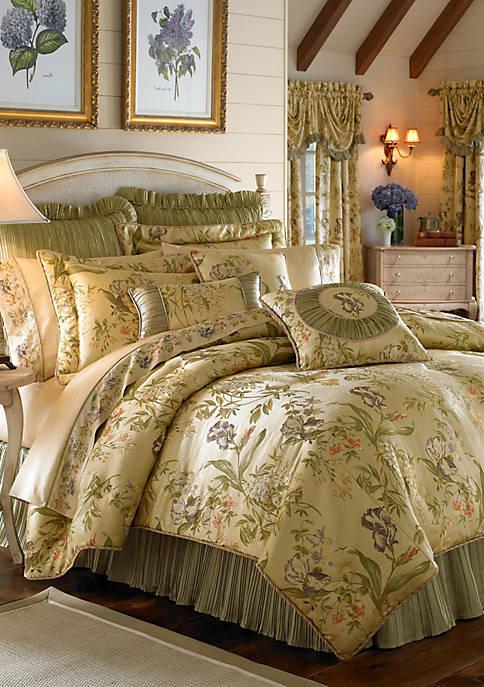 Croscill Iris Reversible Comforter Set Belk