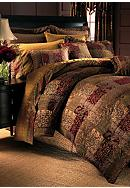 Croscill Galleria Red Bedding Collection
