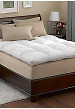 Baffle Box California King Feather Bed 72-in. x 84-in.