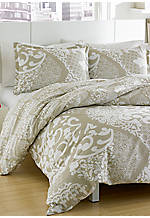 Medley Platinum Full/Queen Comforter Set 96-in. x 92-in.
