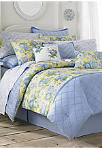 Salisbury French Blue Twin Comforter Set 86-in. x 63-in.