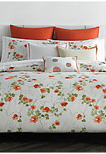 Orange Blossoms King Sheet Set 102-in. x 112-in.