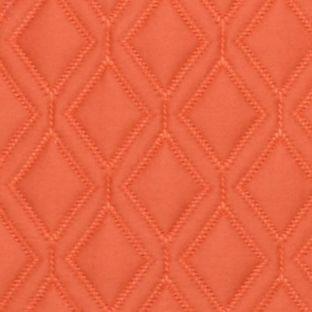 Casual Bedding: Orange Vera Wang VW ORANGE BLSSMS EURO QLTD DIAMOND