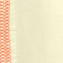 Low Thread Count Sheets: Yellow Vera Wang VW ORANGE BLSSMS 12 X 16 RICE BALLS