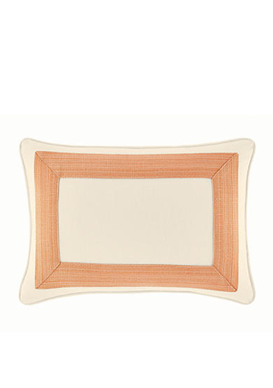 Tommy Bahama® La Scala Breezer Basketweave Border Breakfast Pillow
