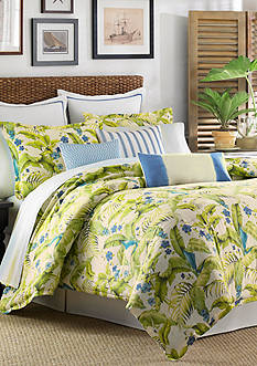 Tommy Bahama Blue Palm Queen Comforter Set
