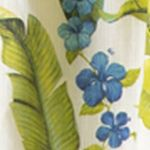 Coastal Bedroom: Citron Green Tommy Bahama Blue Palm King Comforter Set