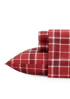 Laura Ashley Highland Check Flannel Sheet Set
