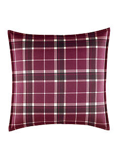 Laura Ashley Ella Plaid Square Pillow