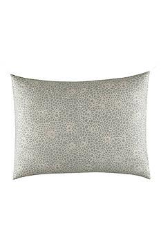 Vera Wang Crochet Lace Gray Standard Sham
