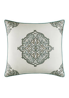 Laura Ashley Ardleigh Square Embroidered Pillow