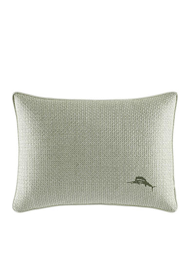 Tommy Bahama® Cuba Cabana Embroidered Breakfast Pillow