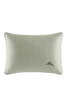 Tommy Bahama Cuba Cabana Embroidered Breakfast Pillow