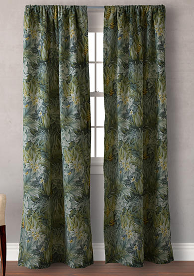 Tommy bahama cuba cabana pair of curtain panels belk Bahama home decor for sale