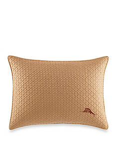 Tommy Bahama Cayo Coco Embroidered Breakfast Pillow