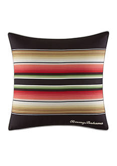 Tommy Bahama Jungle Drive Square Stripe Decorative Pillow