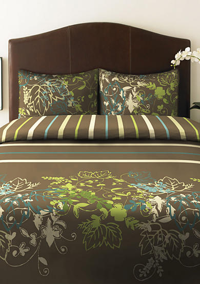 Perry Ellis® Sweet Bay Duvet Set-Online Only