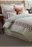 Tommy Bahama® Embroidered Trellis Duvet