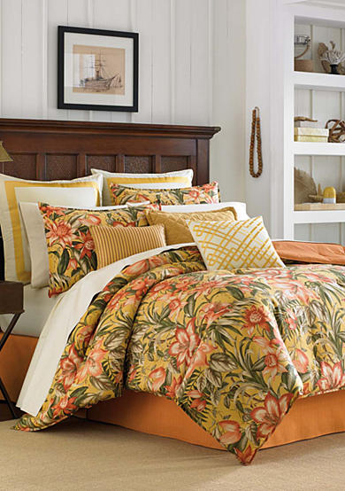 Tommy Bahama® Tropical Lily Comforter Collection