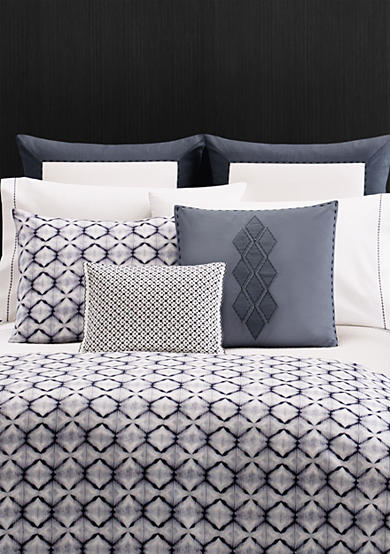 Vera Wang Shibori Diamond Bedding Collection - Online Only