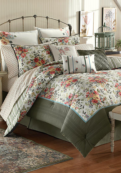 Laura Ashley Wakefield 4-Piece Bedding Collection - Online Only