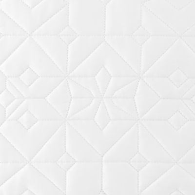 Quilts: White Waterford LISMORE KG QLT IVORY