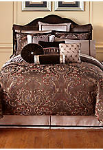 Lansing Chocolate Queen Duvet 92-in. x 96-in.