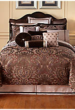 Lansing Chocolate King Comforter 110-in. x 96-in.