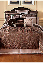 Lansing Chocolate Queen Comforter 92-in. x 96-in.