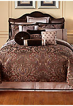 Lansing Chocolate Queen Bedskirt 60-in. x 80-in. + 18-in. drop