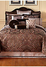 Lansing Chocolate California King Bedskirt 72-in. x 84-in. + 18-in. drop