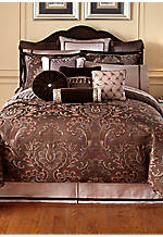 Lansing Chocolate King Bedskirt 78-in. x 80-in. + 18-in. drop