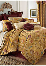 Bellwood Gold Caifornia King Bedskirt 72-in. x 84-in. + 18-in. Drop
