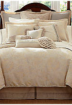 Lysander Ivory King Bedskirt 78-in. x 80-in. + 18-in. drop