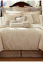 Lysander Ivory California King Bedskirt 72-in. x 84-in. + 18-in. drop