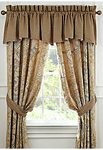 Harrison Natural Scalloped Valance 55-in. x 18-in.