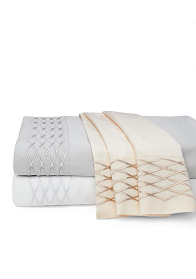 Waterford Diamond Stitch Sheet Set - Online Only
