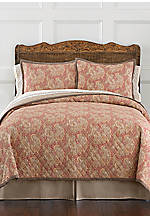 Sonata Red Queen Quilt 92-in. x 96-in.