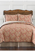 Sonata Red King Quilt 110-in. x 96-in.
