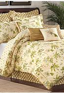 Williamsburg Catesby 4-Piece Palms Bedding