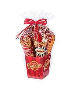 The Gifting Group Popcornopolis Gourmet 5 Cone Gift Basket