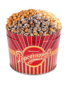 The Gifting Group Popcornopolis 2-gal. Winter Tin