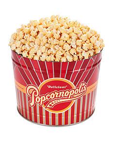 The Gifting Group Popcornopolis Gourmet 2 Gallon Tin, Kettle