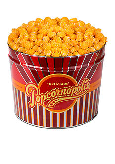 The Gifting Group Popcornopolis Gourmet 2 Gallon Tin, Cheddar