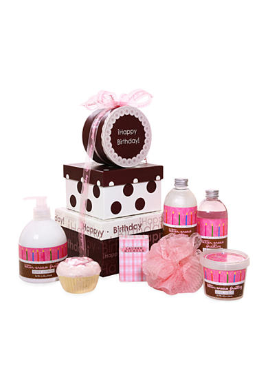 The Gifting Group Happy Birthday Butter Cream Spa Gift