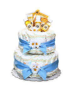 The Gifting Group Burt's Bees® Diaper Cake - Boy