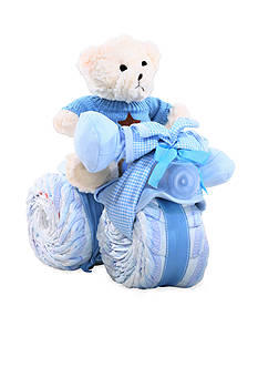 The Gifting Group Tricycle Diaper Cake - Boy