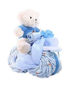 The Gifting Group Motorcycle Diaper Cake - Boy